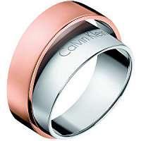 Calvin Klein Oceľový bicolor prsteň Unite KJ5ZPR2001 mm