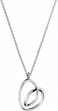 Calvin Klein Oceľový náhrdelník so srdcom Warm KJ5AMN000100