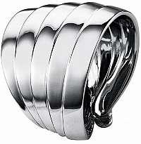 Calvin Klein Oceľový prsteň Whisper KJ76AR0101 mm
