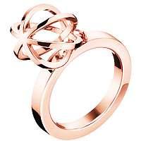 Calvin Klein Originálne pozlátený prsteň Show KJ4XPR1002 57 mm