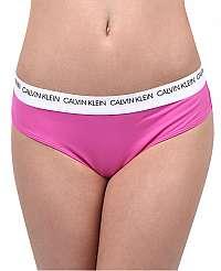 Calvin Klein Plavkové nohavičky Brazilian Hipster CK Logo KW0KW00629-658 Phlox Pink L