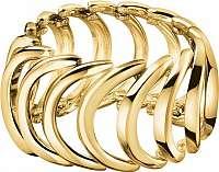 Calvin Klein Pozlátený oceľový prsteň Body KJ2WJR1001 mm