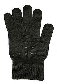 CAPU Dámske rukavice304-E Dark Grey