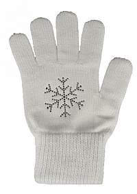 CAPU Dámske rukavice305-A White