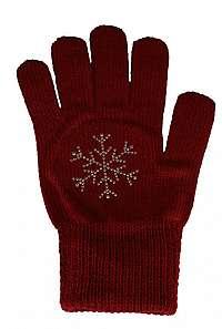CAPU Dámske rukavice305-E Wine