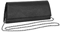 Charmel Elegantné čierne lístoček 1727