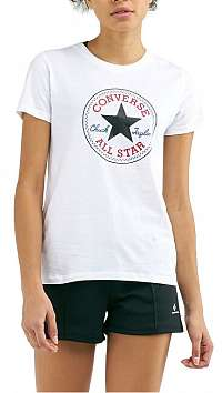 Converse Dámske tričko Chuck Patch Nova Tee White XL
