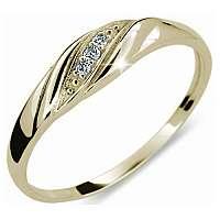 Danfil Jemný diamantový prsteň DF2084z 62 mm