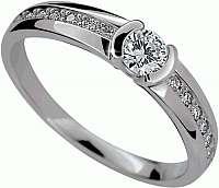 Danfil Luxusné zásnubný prsteň DLR2106b mm