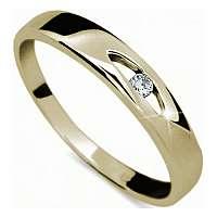 Danfil Zlatý prsteň s diamantom DF1281z mm