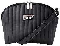 Dara bags Crossbody kabelka Bel Middle No. Deep Black Matt