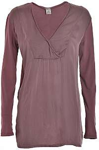 Deha Dámske tričko Long Sleeve T-shirt D63630 Rose Grey S