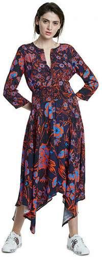 Desigual Dámske šaty Vest Hudson Sunset 20SWVW29 7026