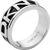 DKNY Čierny prsteň NJ1891040 mm