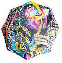 Doppler Dámsky plne auto matický skladací dáždnik Modern.Art Magic Mini - Fantasia 74615712