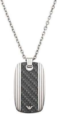 Emporio Armani Náhrdelník z ocele pre mužov EGS1685040
