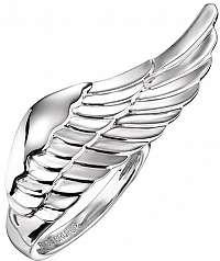 Engelsrufer Strieborný prsteň s anjelským krídlom ERR-WING