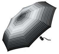 Esprit Dámsky dáždnik Easymatic Light Gradient Stripe s Black