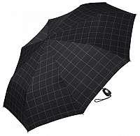 Esprit Pánsky dáždnik Gents Mini Tecmatic Check Black