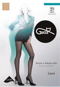 Gatta Dámske pančuchové nohavice Laura 20 Golden 2