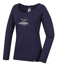 Hannah Dámske tričko Fabris Nightshadow Blue 10000221HHX