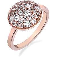 Hot Diamonds Prsteň Emozioni Laghetto Bouquet Rose Gold ER012 mm