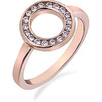 Hot Diamonds Prsteň Emozioni Saturno Rose Gold ER002 mm
