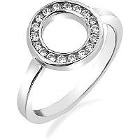 Hot Diamonds Prsteň Emozioni Saturno Silver ER001 56 mm