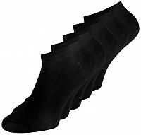 Jack&Jones 5 PACK - pánske ponožky JACDONGO 12120278 Black