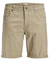 Jack&Jones Pánske kraťasy Irick Jjoriginal Shorts Wv 01 White Pepper S