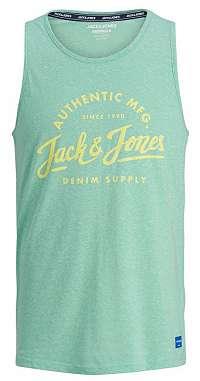 Jack&Jones Pánske tielko Jorquinn Tank Top Aqua Sky S