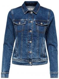 Jacqueline de Yong Dámska džínsová bunda JDYFARIA 15180019 Medium Blue XS