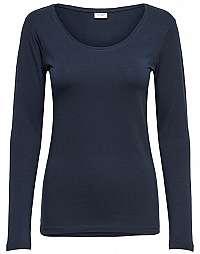 Jacqueline de Yong Dámske tričko JDYAVA L / S TOP JRS Noosa Sky Captain M