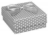JK Box Bodkovaná krabička na súpravu šperkov KK-4 / A3