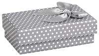 JK Box Bodkovaná krabička na súpravu šperkov KK-6 / A3