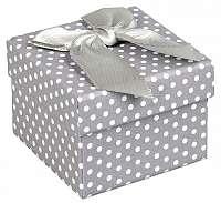JK Box Darčeková krabička na náušnice a prsteň KK-3 / A3