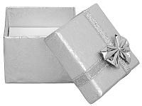 JK Box Darčeková krabička na náušnice a prsteň RZ-3 / AG