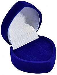 JK Box Modrá darčeková krabička na náušnice F-75 / NA / A14