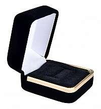 JK Box Zamatová darčeková krabička na prsteň CD-2 / A25