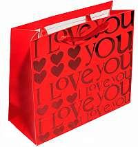 JK Box Zamilovaná darčeková taška IL-10 / A7