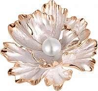 JwL Luxury Pearls Unikátny brošňa kvet 2v1 s pravou perlou JL0573