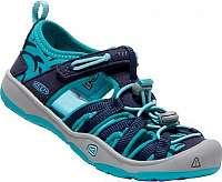 KEEN Detské sandále Moxie Sandal Dress Blues/Viridian