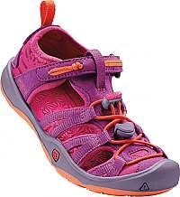 KEEN Detské sandále Moxie Sandal Purple Wine/Nasturtium KIDS-26