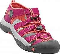 KEEN Detské sandále Newport H2 Very Berry/Fusion Coral JUNIOR