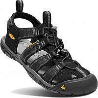 KEEN Pánske sandále Clearwater CNX 1008660 Black/Gargoyle
