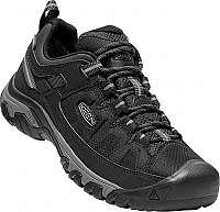KEEN Pánske trekové topánky Targhee EXP WP Black / Steel Grey