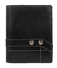 Lagen Kožená čierna peňaženka8 NC / T Black
