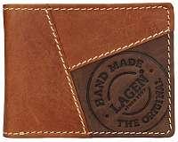 Lagen Pánska kožená peňaženka148 TAN