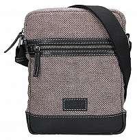 Lagen Pánska taška cez rameno 23306 Black/Beige