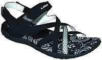 LOAP Dámske sandále Caipa Black/Bl De Blanc SSL18130-V11A